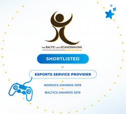 UltraPlay is shortlisted for the BSG Awards 2019