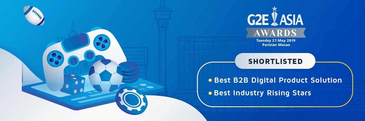 G2E Asia Awards Shortlisted