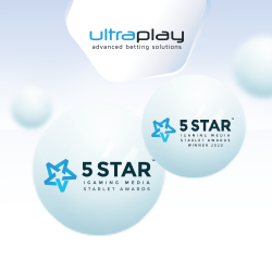 UltraPlay wins eSports Supplier Starlet Award for third consecutive year