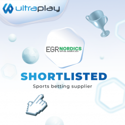 UltraPlay is shortlisted in EGR Nordics Virtual Awards 2021