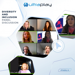 Diversity and Inclusion panel discussion - Lyubomira Petrova CMO at UltraPlay