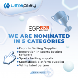 UltraPlay is shortlisted at the EGR B2B Awards 2021