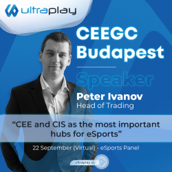 Peter Ivanov - Head of Trading at UltraPlay joins the CEEGC virtual conference on September 22nd