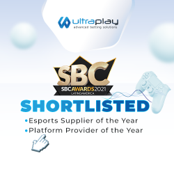 UltraPlay is shortlisted in the SBC Awards Latinoamérica